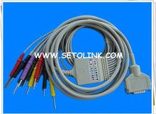 FUKUDA ECG/EKG CABLE 10 LEADS DIN 3.0 END IEC STANDARD