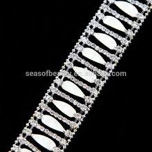 Fashion Shining Special Shape Crystal Rhinestone Chain Wholesale R2273Y