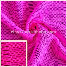 87 nylon 13 spandex luxury comfortable mesh fabric for fashion clothes