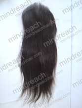 CHINA MR HAIR ! cheap unprocessed brazilian virgin remy nature wave free parting lace closure piece