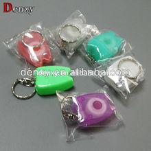 Promotional high quality orthodontic dental dental floss / orthodontic mini tooth shape dental floss keychain