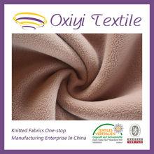 100 polyester micro polar fleece fabric