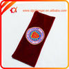 wholesale red Velvet gift Bag with embroider logo