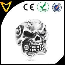 Fashion Stainless Steel Skull Ring,316L Titanium Men Ring Wholesale,Gothic Biker Skull Ring