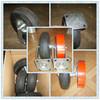 OEM service black rubber wheel/ 6 inch wheel