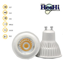 High Power led spotlighting 5w gu10 replace Halogen lamp