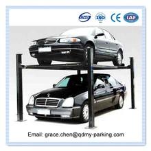 CE/ISO Mobile Car Lift Double Parking Manual Mechanical Car Lift