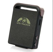 Quad Band Mini Personal Pet Car GPS Tracker Coban TK102B GPS102B Magnet SD Card Slot Free PC Software