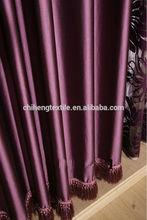 hot sale new plain colour blackout curtain styles
