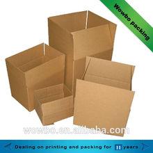Customized printing corrugated carton box