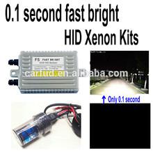 0.1 second 55w fast bright hid kit h8 15000k
