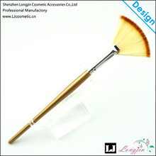 Durable Professional And Beauty Cosmetics Soft Big fan Makeup Brush