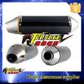 alta qualidade de escape silencioso tubo de motocicleta