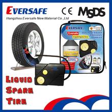 Car Tubeless Tire Sealant Repair Kit as Car Emergency Kit with Inflator Pump