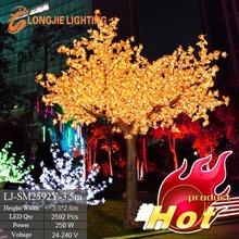 2952 led 3.5m high outdoor tree illumination light Xmas decor
