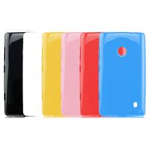 New Soft TPU Gel Back Case Cover for Nokia Lumia 520