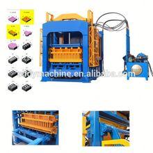 QT4-15 agriculture gypsum price in india brick block machine