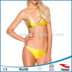 Digital print sexy lady bikini bra