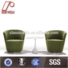 round sofa chair,Leisure round sofa chair,half round leather sofa H-024