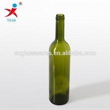 750ML GLASS WINE BOTTLE