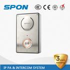 IP SIP video intercom apartment audio door phone intercom system