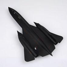 "Lockheed SR-71 ""Blackbird"" USAF SR71 reconnaissance 1:72 scale craft"