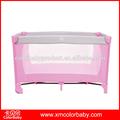 rosa bebê folding cama cercadinho bp406b