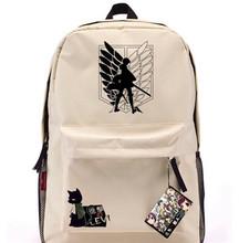 Simple design canvas school bag rucksack backpack sports