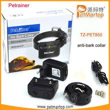 Unique Water Resistant Electric Shock Bark Shock Collar TZ-PET850