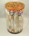 colorido dulce giro largo algodóndeazúcar
