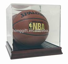 NEW NBA BASKETBALL ACRYLIC WOOD BASE DISPLAY CASE