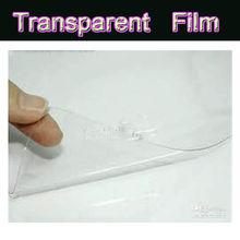 screen protective film for car /soft pvc film/a3 ohp transparent film
