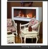 metal ethanol fireplace modern gas fireplace