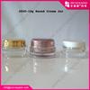 15ml luxury round jar acrylic hand cream containers