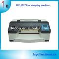 Estampación en caliente de la máquina dc-300tj digital de la impresora de papel de aluminio
