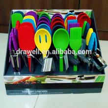 SP-1090 36 Piece FDA&LFGB Food Grade silicone kitchen utensils