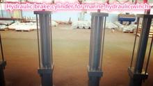 15 Ton Marine hydraulic winch hydraulic brake cylinder