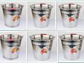 Alta qualidade best selling galvanizado balde de ferro com aro
