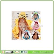 custom design kids poncho beach towel,custom design kids hooded beach towel