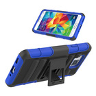 Hybird Armor Kickstand hard TPU Plus PC Robot 2 in 1 Combo phone cases cover for Samsung Galaxy Alpha G850 G901F