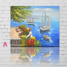 Natural Scenery Art Painting Classical Oil Painting Prints Sea Landscape Canvas Art Wall Decor