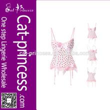 High quality garter belt corset for women