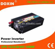 power inverter home ups doxin 1000w inverter charger & ups 12v 220v