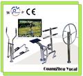 exterior equipamiento de fitness de acero inoxidable al aire libre equipos gimnasio