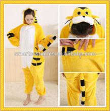 wholesale new design adult and kid animal onesie tiger costume