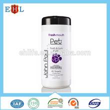 Professional OEM GMPC certified Best Cat pet wet tissue