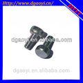 inoxidável steel304 rosca macho e fêmea pequeno fechos de metal top de venda de produtos em alibaba