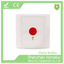 Wireless Push alarm Panic Button with Key switch