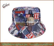 Custom sublimation bucket hat