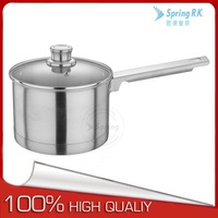 S/S 304 16cm stainless steel sauce pan for induction